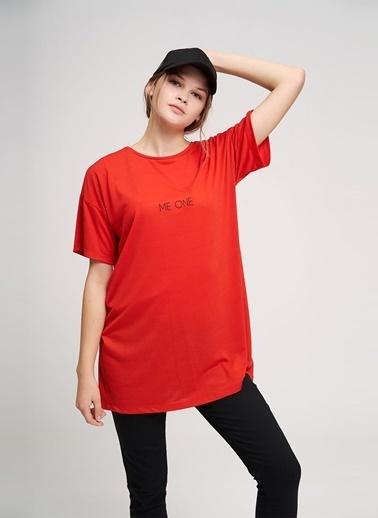 Mizalle Youth Tişört Kırmızı